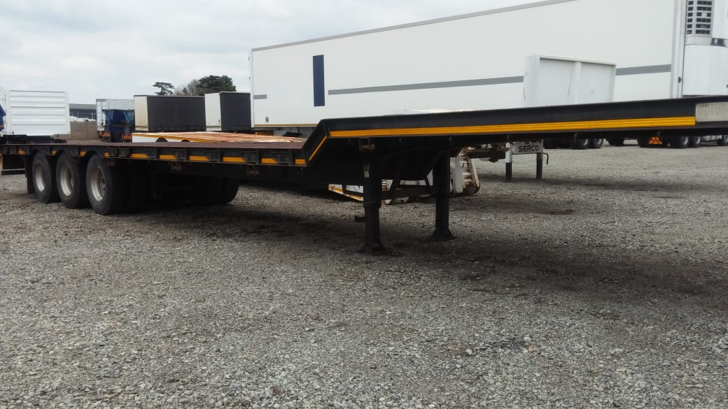 #1337 – 2007 Motor Trail Triaxle Stepdeck Trailer