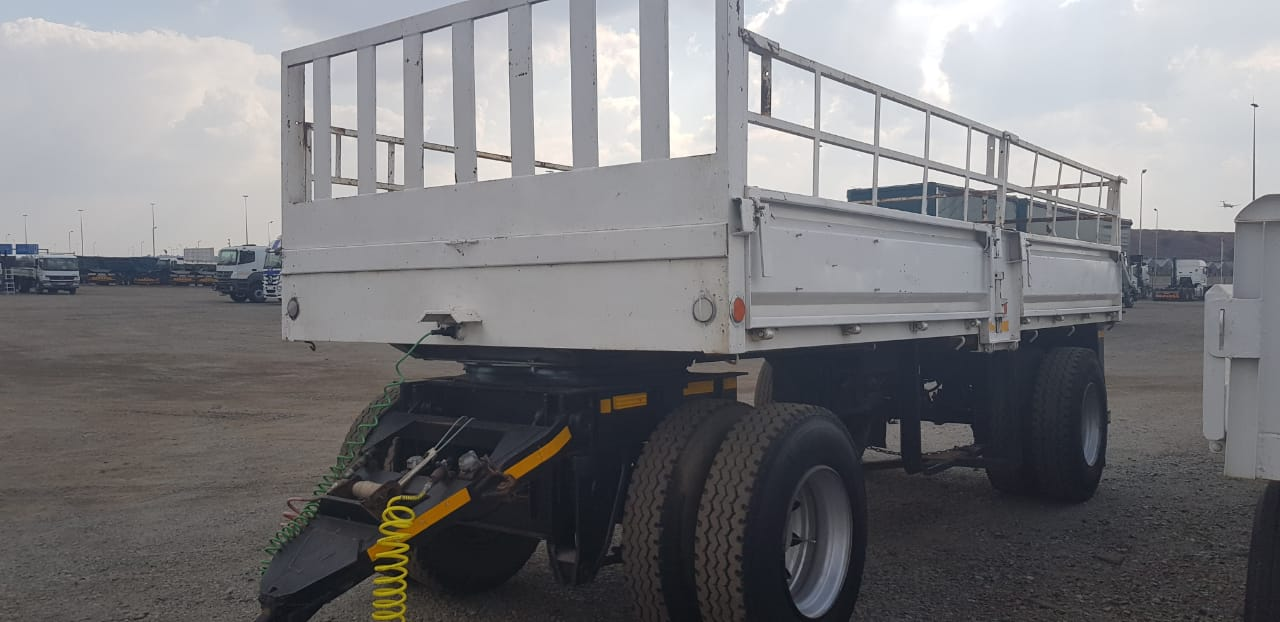 #1499 Used 2008 Henred 2 Axle Drawbar Trailer