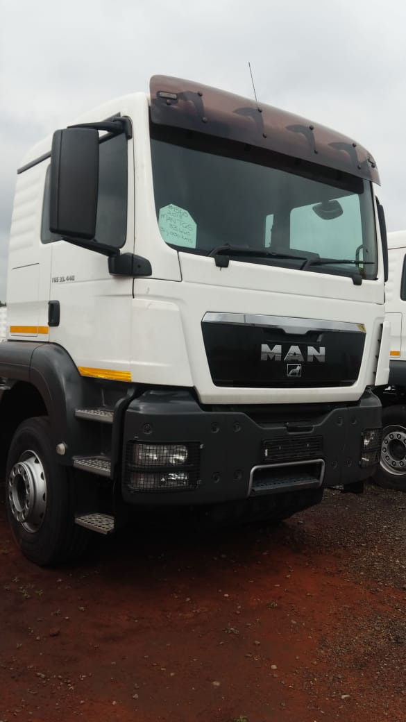 #1560 Used 2013 MAN TGS 33.440 6×4 Truck Tractor
