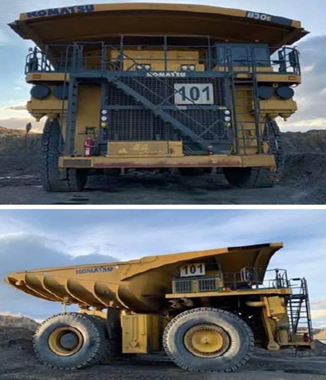 (15) KOMATSU 830E Rock Trucks – Year(s) 2011 to 2012.